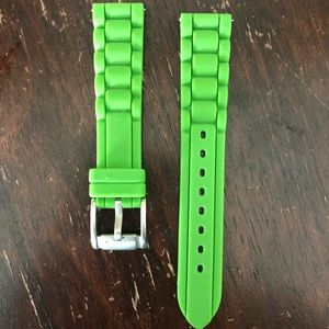 Women's Fossil Replacement Silicon Green Band